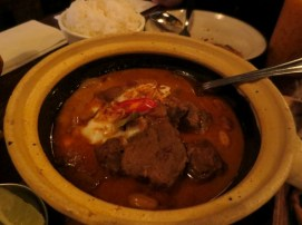 Gaeng Masaman with braised beef