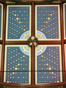 St. Michael's Cathedral ceiling 4 panels