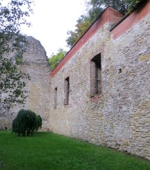 Budapest Margaret Island church ruins shades of green