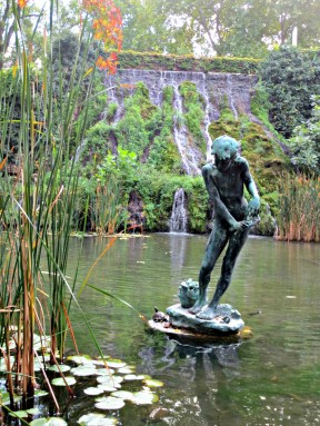 Budapest Margaret Island Japanese Garden boy