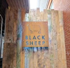 Halifax Black Sheep restaurant signage