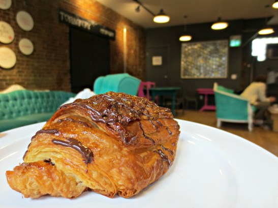 Halifax The Old Apothecary chocolate croissant