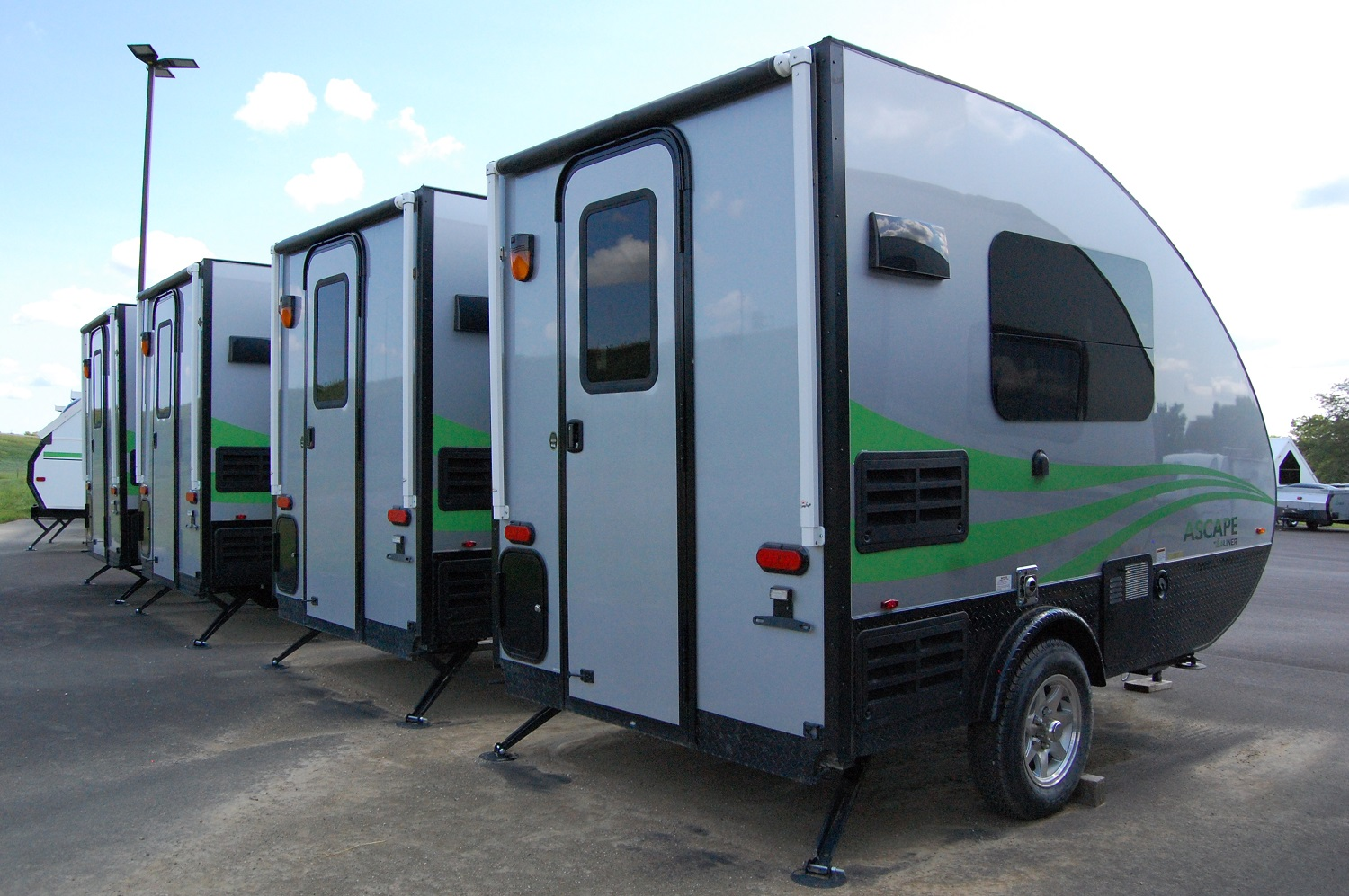 2018 Aliner Ascape Firsthand Report The Small Trailer