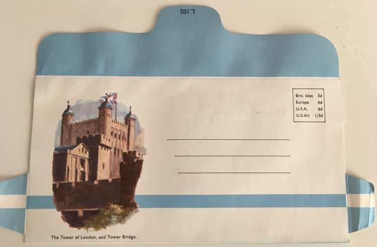 Envelope - Tower of London