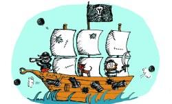 All Aboard the RustySpanner! Workshop flyer illustration
