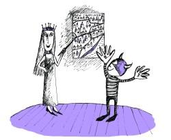 Illustration for story written by children for Bristol Story Lab