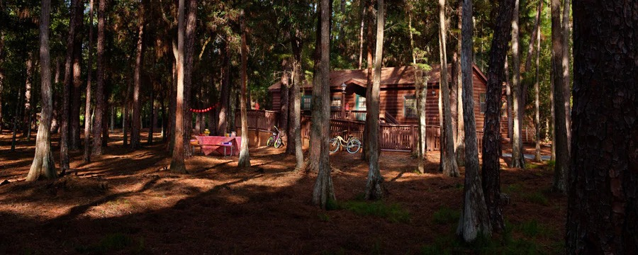 Disney's Fort Wilderness Resort Cabin