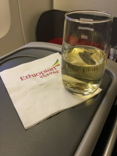 Ethiopian Airlines drinks