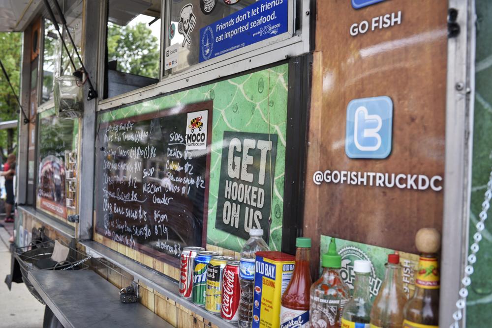 ktown food truck night in Kensington, Maryland