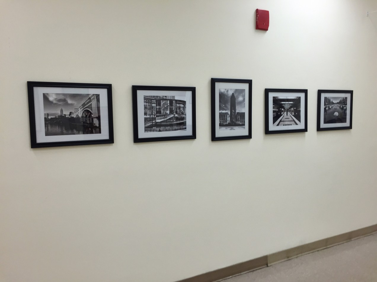 Cleveland images, part of the Four Cities exhibit at Children's National Medical Center in Washington DC