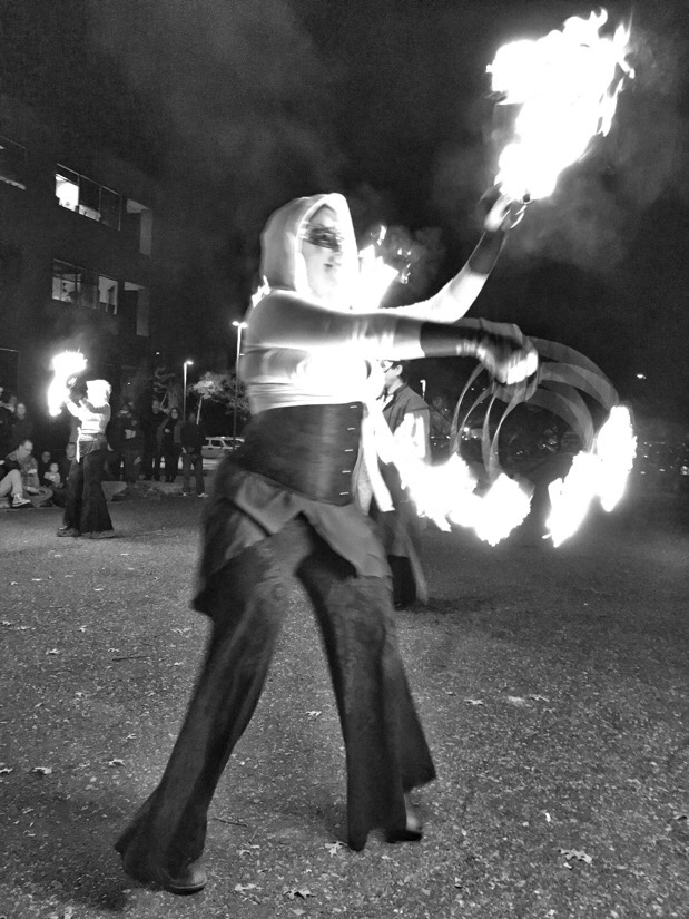 dance afire productions at artomatic in washington dc