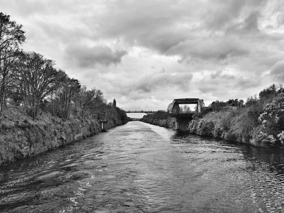 Swing bridge on the Manchester ship canal