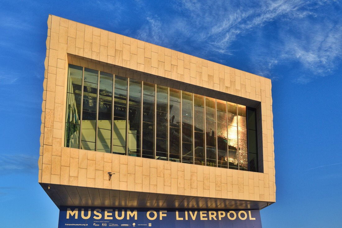 The museum of Liverpool