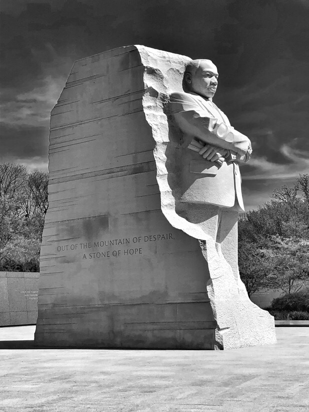 Martin Luther king, jr memorial in Washington DC