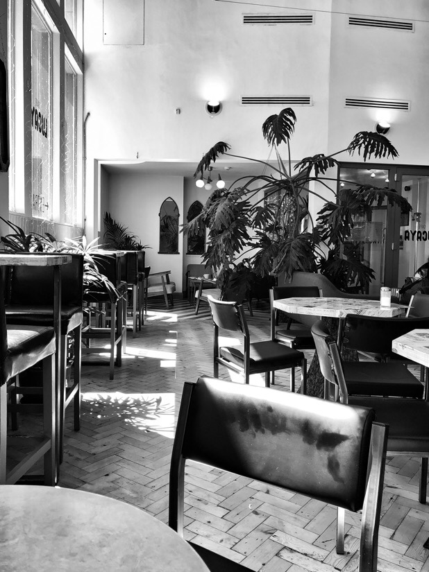 Cafe Lucaya on Water Street in Liverpool