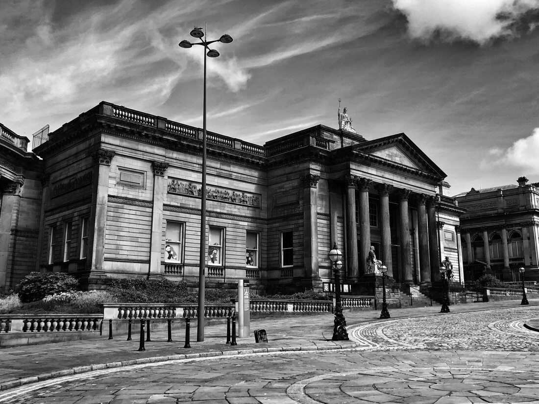 The World Museum, Central Library and Walker Art Gallery on William Brown Street in Liverpool, England