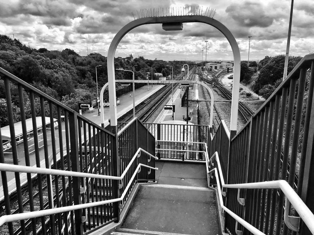 Kirkdale Station on the Merseyrail system in Liverpool, England