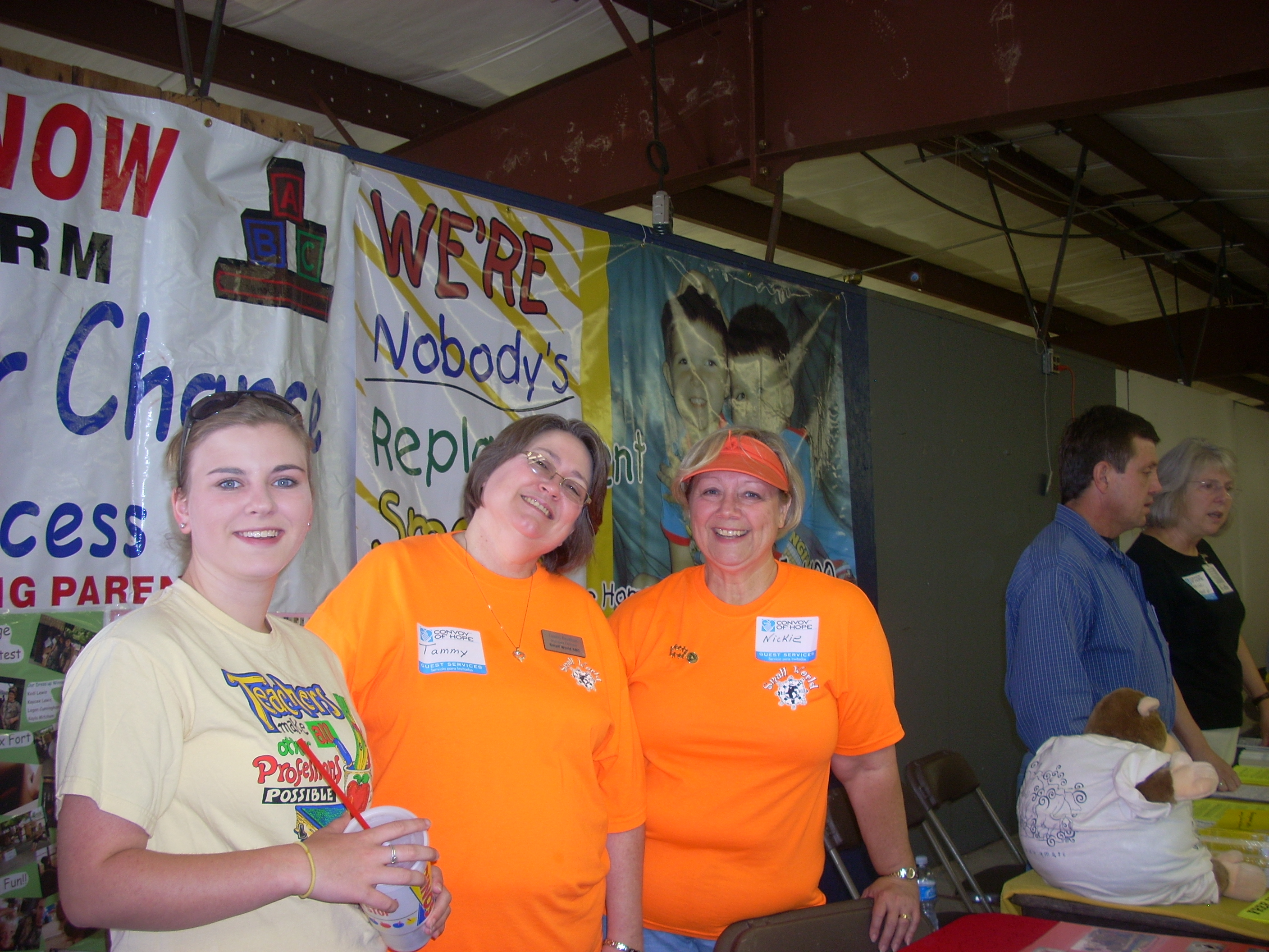 Small World at Convoy of Hope