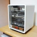 使うのがもったいないぐらいカッコいい!±0(プラスマイナスゼロ)の縦型オーブントースター
