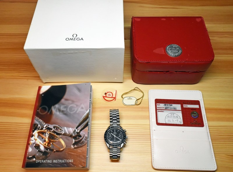 Omega speed master 9a