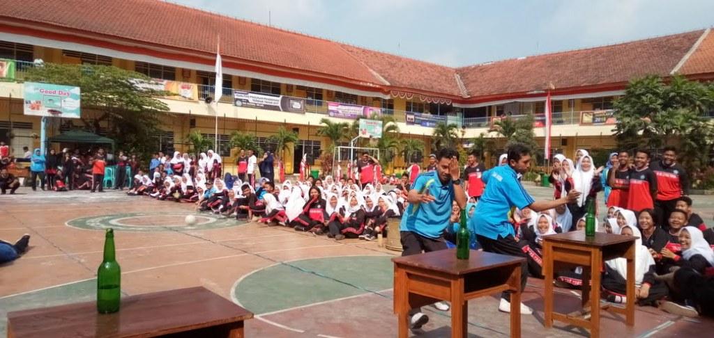 Semangat Jiwa Kompetitif Siswa SMANAS Masih Diadu 8
