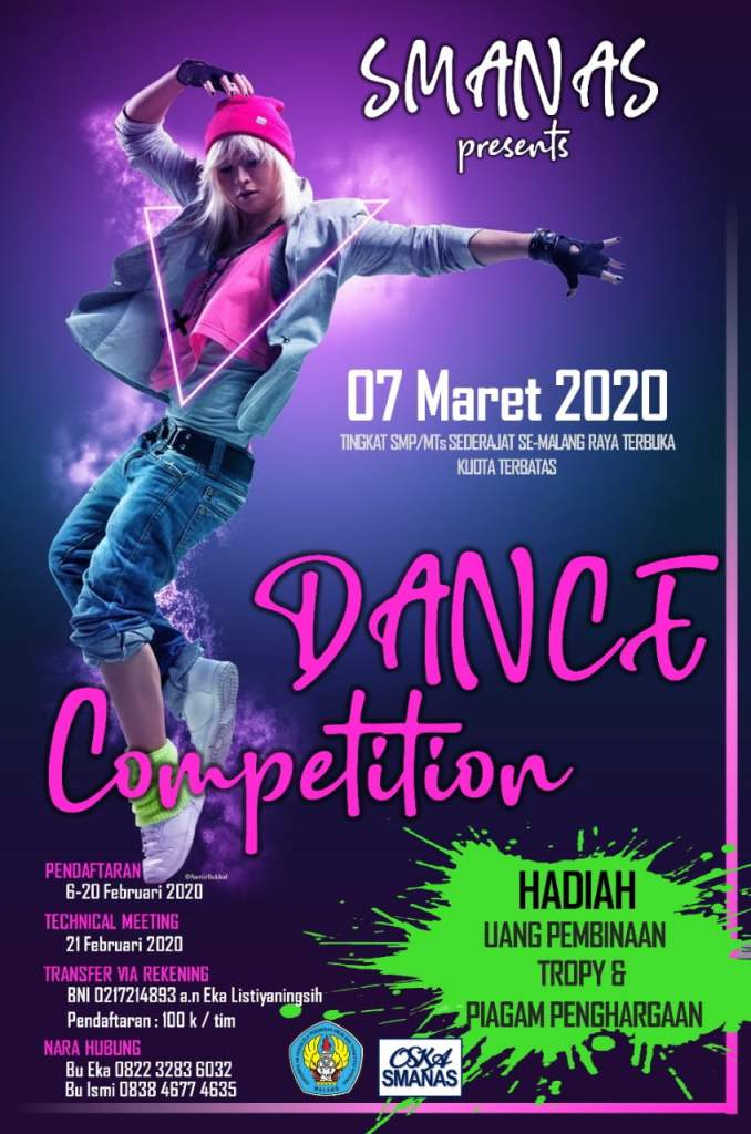 Volleyball SMANAS Cup & Dance Competition 2020 1