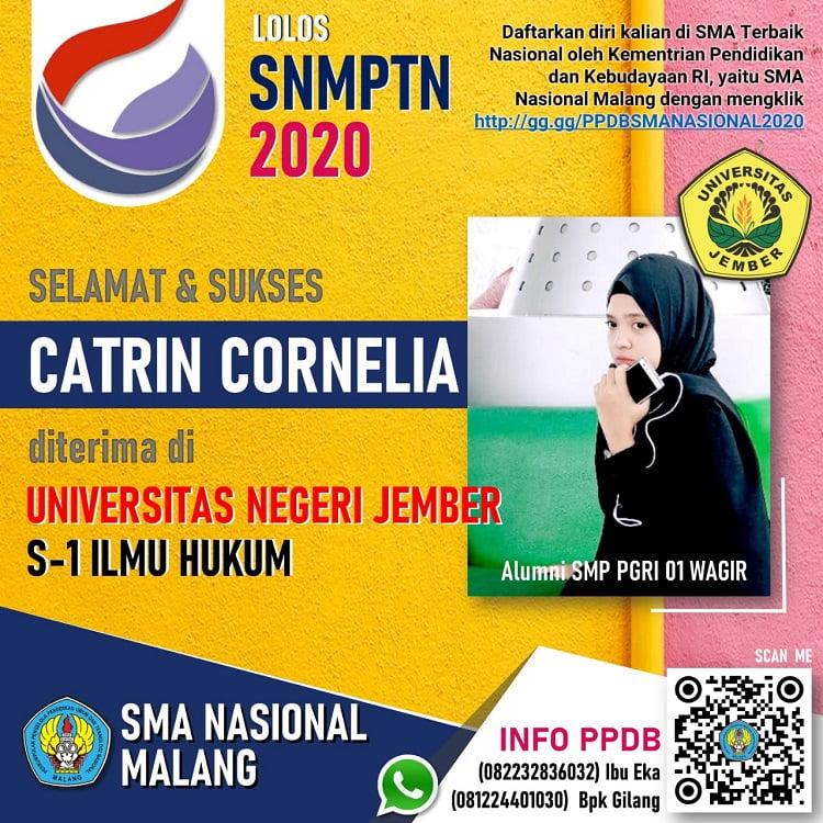 Siswa SMANAS Meroket, Dobrak Pintu PTN di SNMPN dan SNMPTN 2020 6
