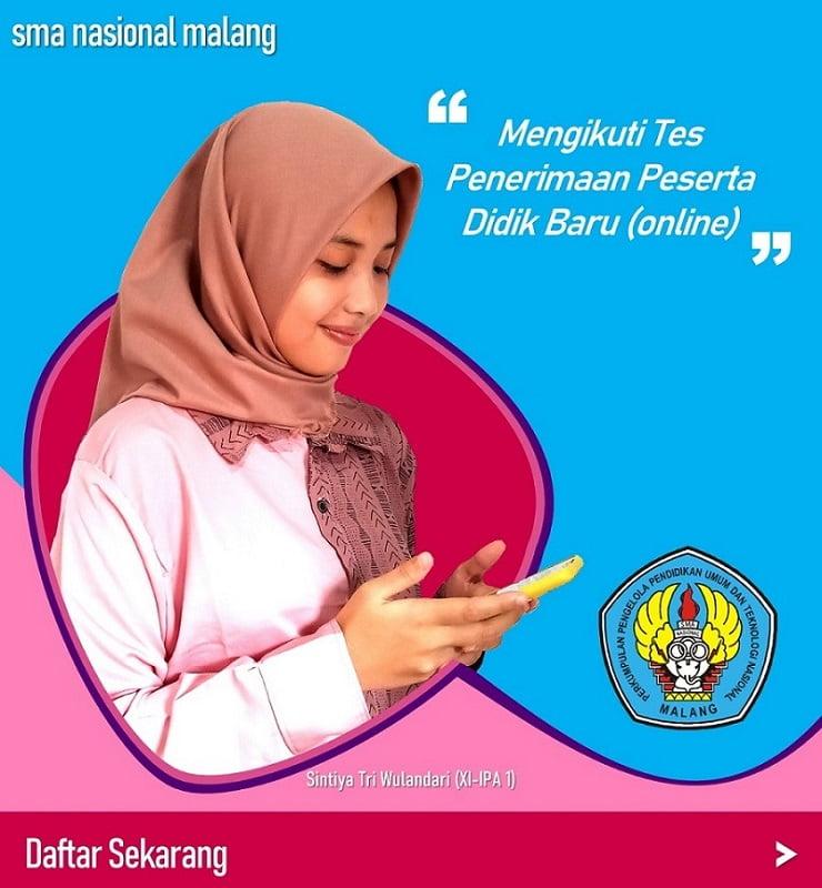 Alur PPDB Online SMA Nasional Malang 3