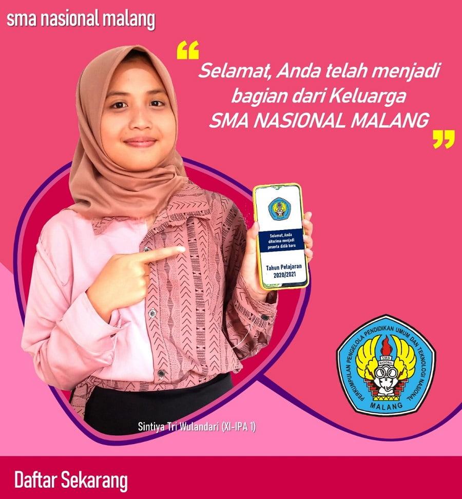 Alur PPDB Online SMA Nasional Malang 5