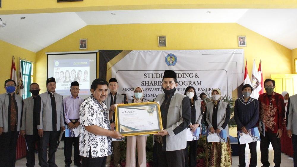 Studi Banding dan Sharing Program dengan MKKS Swasta Kabupaten Pasuruan 6