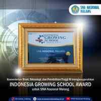 Indonesia Growing School Award 2017