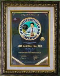 Penghargaan Prestasi Indonesia Kategori Program Pendidikan dan Bimbingan Terbaik