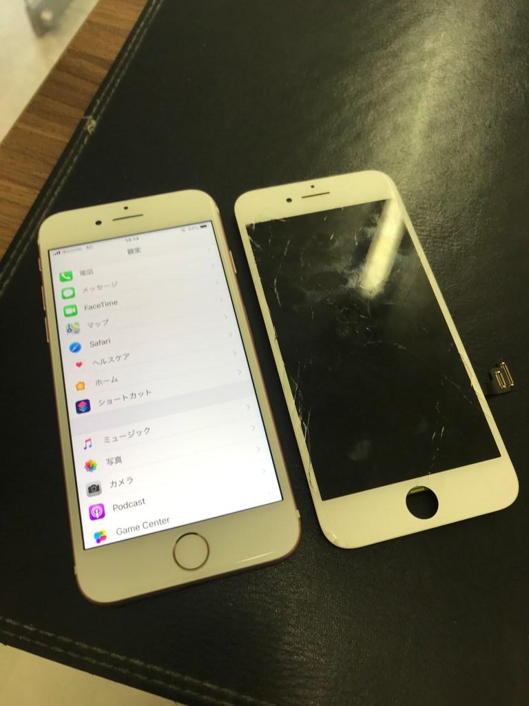 IMG 5244 768x1024 - 北九州市よりiPhone7のガラス割れ修理(HQパネル)