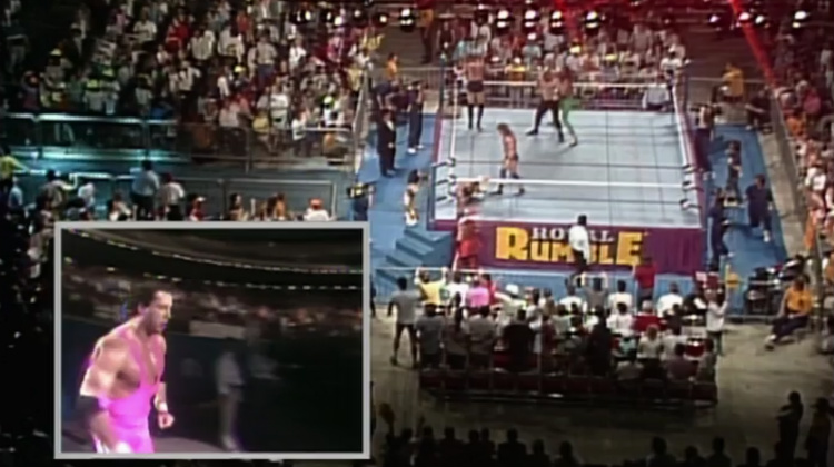 royal rumble match 1990