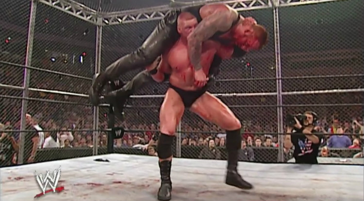 brock lesnar vs the undertaker hell in a cell no mercy 2002