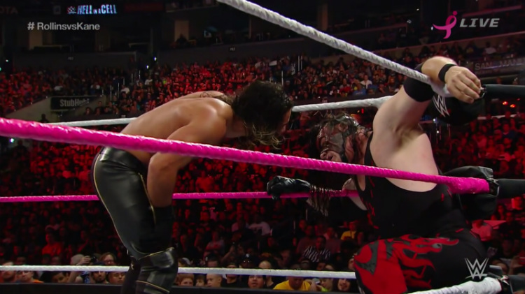 seth rollins vs kane hell in a cell 2015