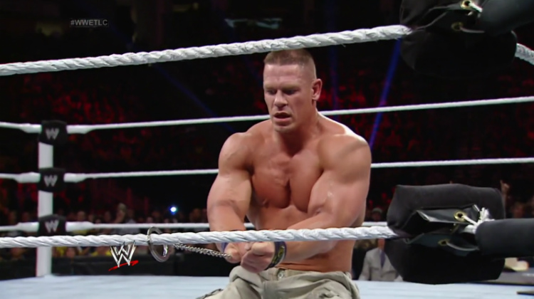 cena orton tables ladders chairs 2013