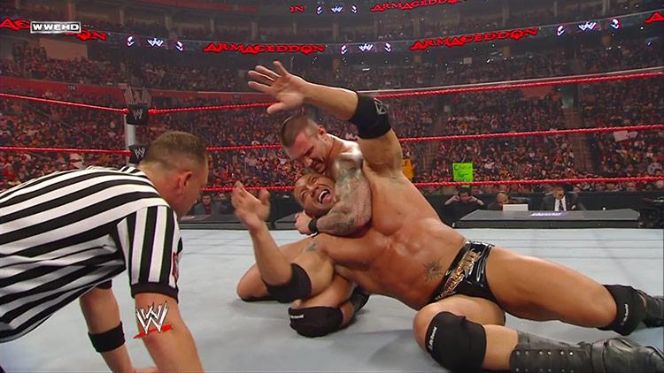Randy Orton vs. Batista – WWE Armageddon 2008