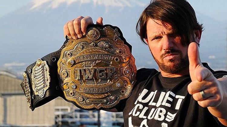 A.J. Styles, IWGP Heavyweight Champion