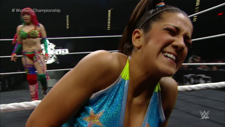 nxt takeover dallas asuka bayley
