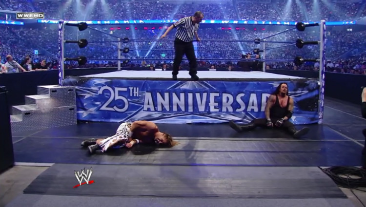 hbk vs undertaker wrestlemania 25 b