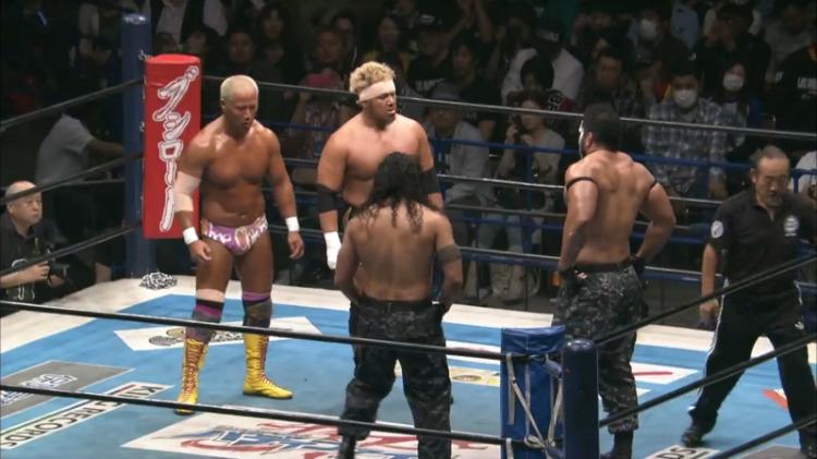 njpw wrestling dontaku honma makabe vs tama tonga tanga roa