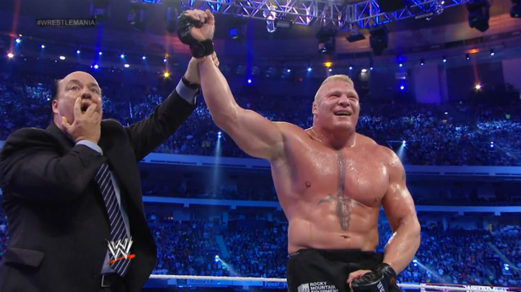 brock lesnar undertaker wrestlemania 30