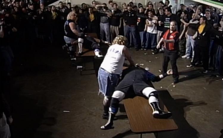ecw-living-dangerously-1998-dudley-boyz-vs-hardcore-chain-swingin-freaks-vs-new-jack-spike-dudley