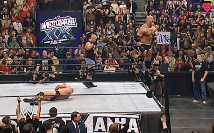 goldberg-vs-lesnar-wrestlemania-20