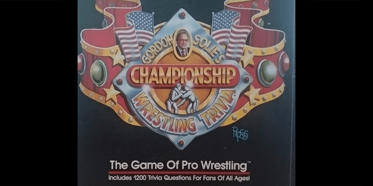 Gordon Solie's Championship Trivia Game
