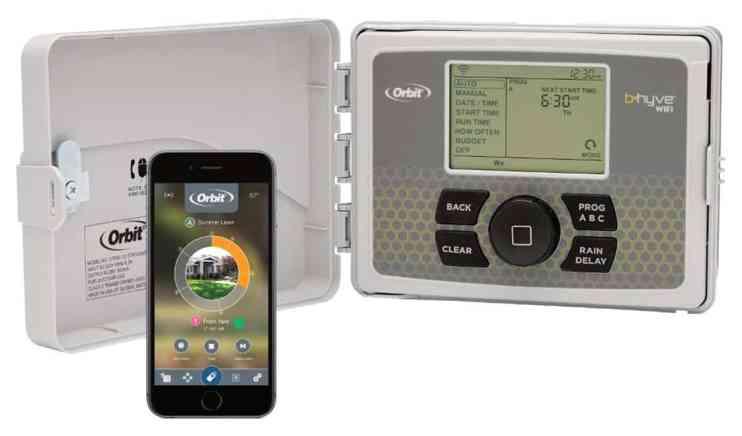 B-hyve Smart Indoor/Outdoor 12-Station WiFi Sprinkler System
