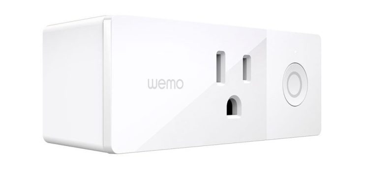 Wemo Mini - Best Overall smart plug