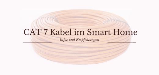 Cat 7 Kabel im Smart Home