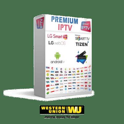 Abonnement IPTV Western Union